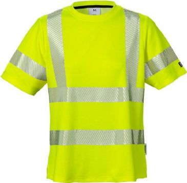 Fristads High Vis T-Shirt Woman Class 2 7458 THV (High Vis Yellow)
